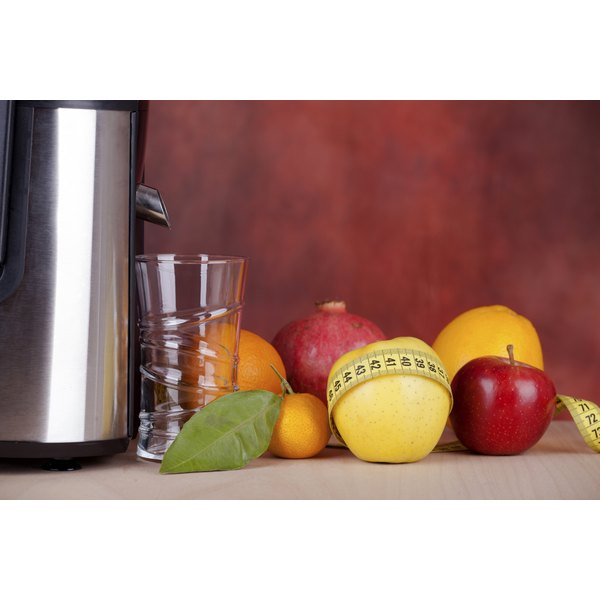 The Gerson diet recommends the regular consumption of fresh fruit and vegetable juice.