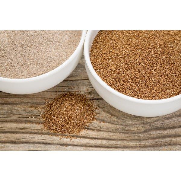 Gluten free teff grain.