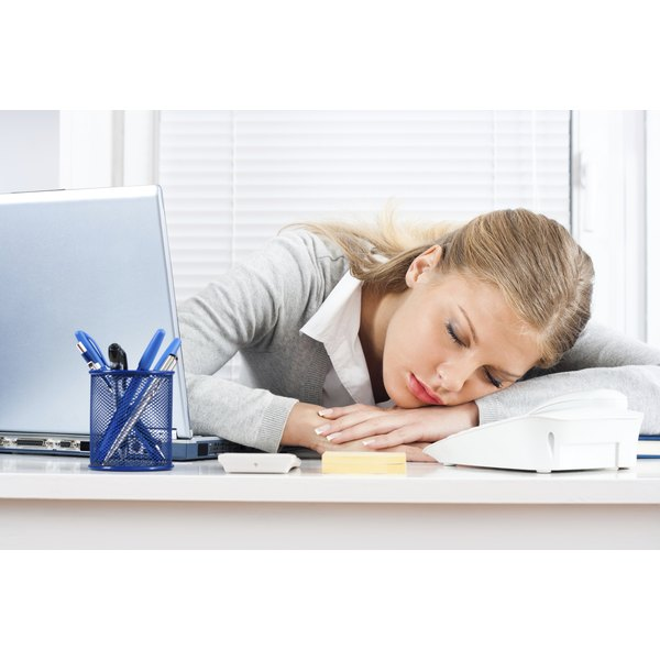 Fatigue is a common symptom of a sluggish thyroid.