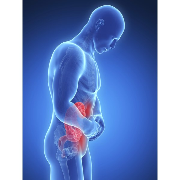 A sports hernia can cause severe abdominal pain.