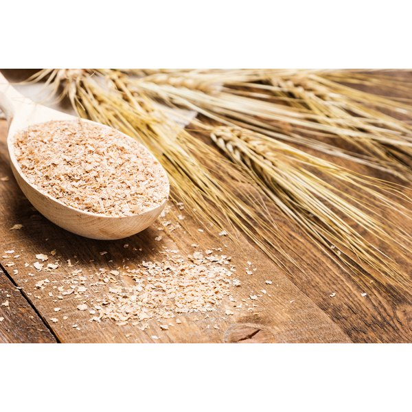 Wheat bran comes from the outer layer of the grain.