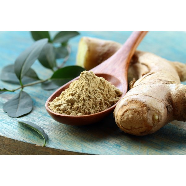 Many herbs such as ginger have been used for centuries for their anti-inflammatory properties.