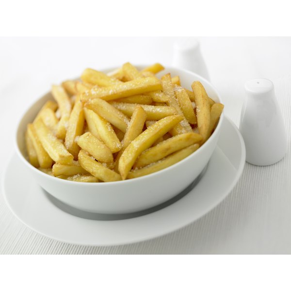 Potatoes -- including french fries -- are strongly linked to weight gain.