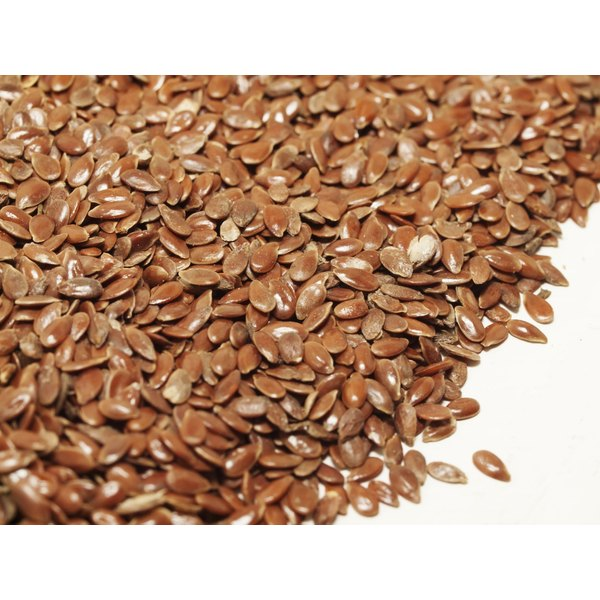 Whole flax seeds add crunch, but they can't be digested.