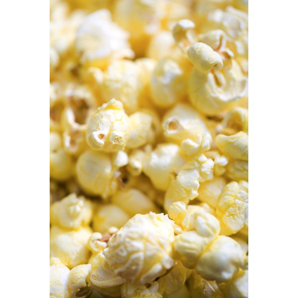 Air-popped popcorn is nutritious and low-fat.