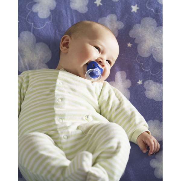 The AAP recommends a pacifier at sleep time to reduce SIDS risk.
