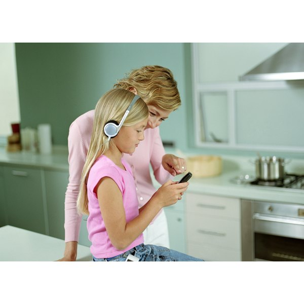 A monitoring service may help you track your children's cell phone usage.