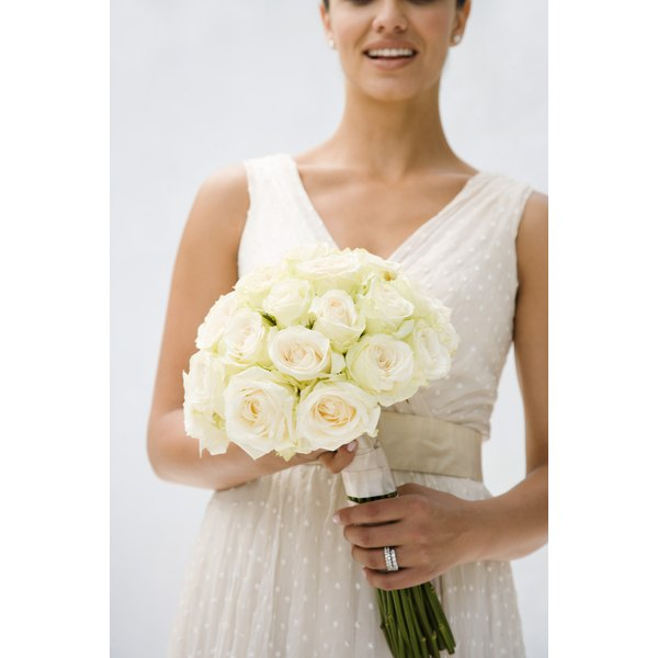 Create Your Own Stylish Bridal Bouquet Holder With Ribbons And Beads