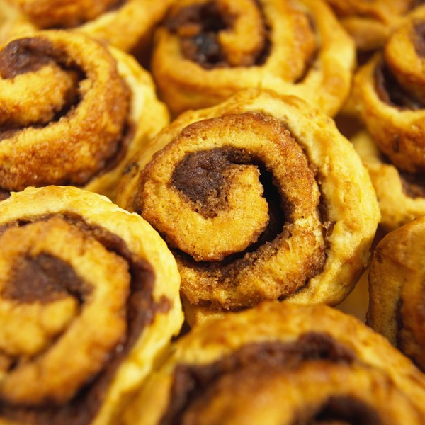 Do not mix cinnamon directly into the dough for cinnamon rolls; too much of the spice can inhibit yeast production.