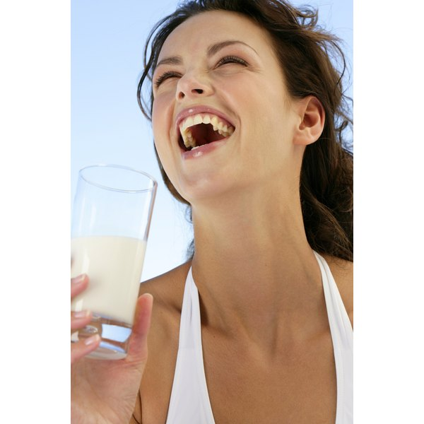 Drink a glass of low-fat milk with breakfast for a protein boost.