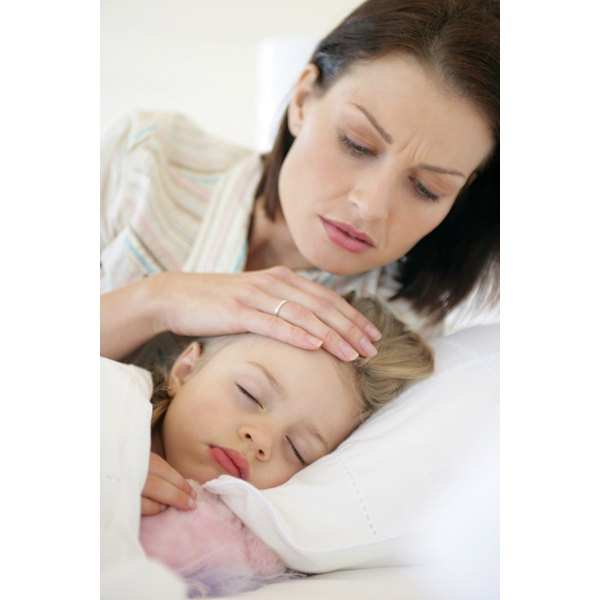 A cough can keep your child awake at night.