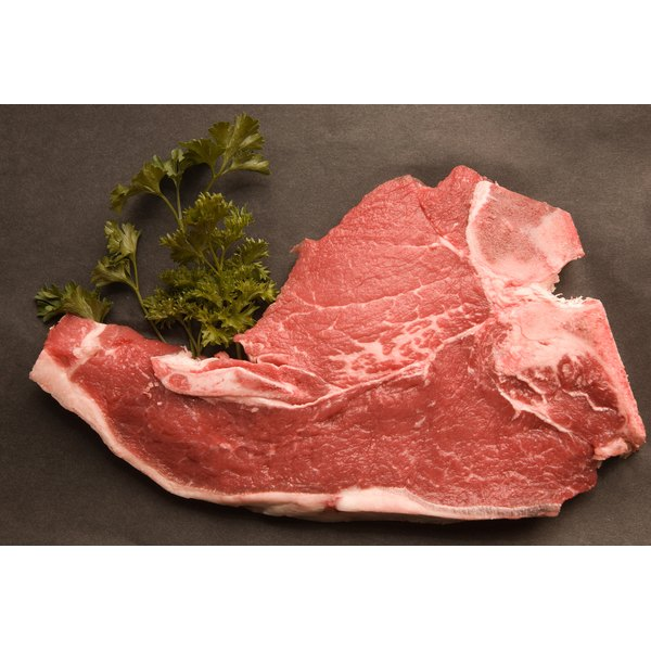 Pork chops are cut from the flank of the pig, from the hip to the shoulder.