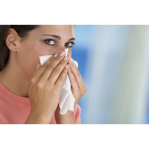 Allergies may not necessarily cause redness in the face, but the two may be related.