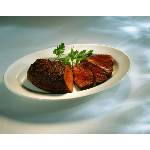 Sear and bake top sirloin steak for juicy, tasty and tender meat.
