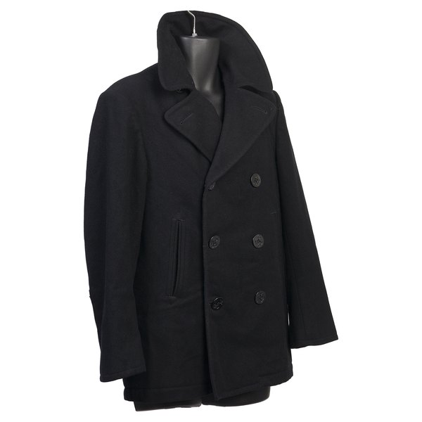 Avoid changing the shape of your coat during storage by hanging.