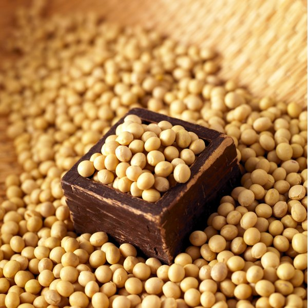 Soy is a common ingredient in foods, bevereges and even vitamins.