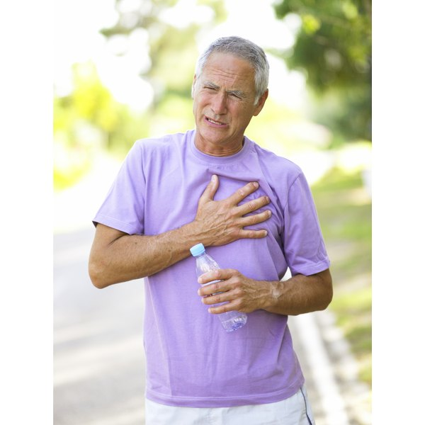 Chest tightness is a sign of an allergic reaction.