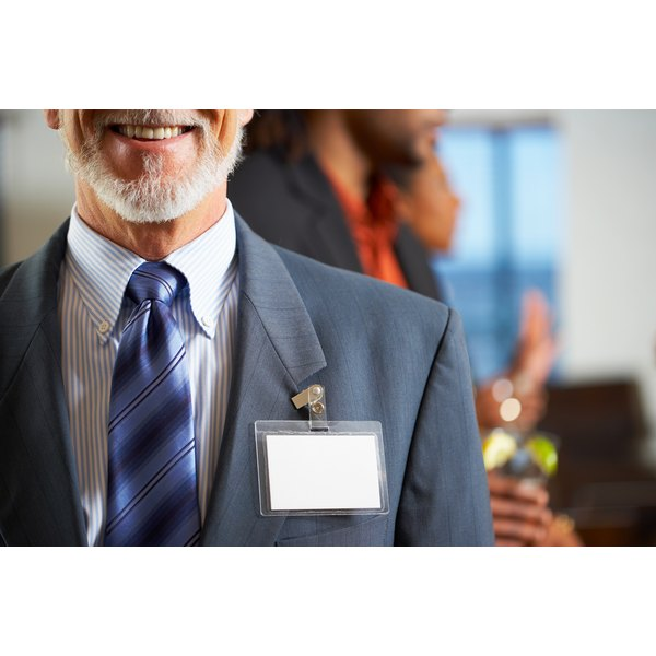 Provide name tags for all your guests.