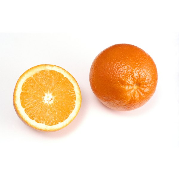 The fiber in a whole orange can help you feel full.
