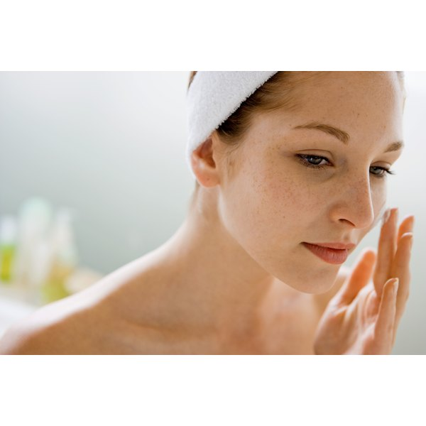 Light oil massages can expedite your skin's return to normalcy.