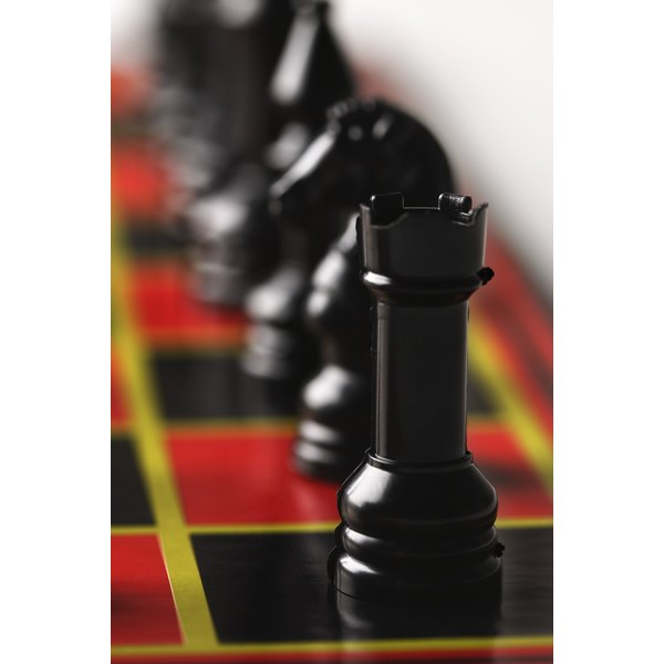 Create a checkerboard cake for a chess fan.