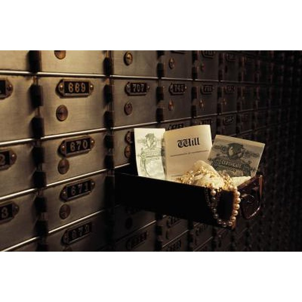 What Documentation Do I Need To Get A Safe Deposit Box