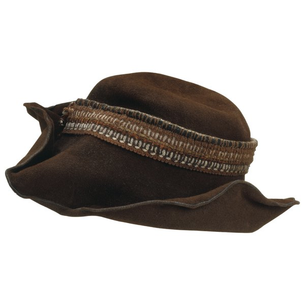 Revive a crumpled or sagging hat with a little TLC.