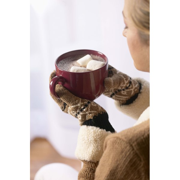 Hot cocoa contains minute amounts of theophylline.