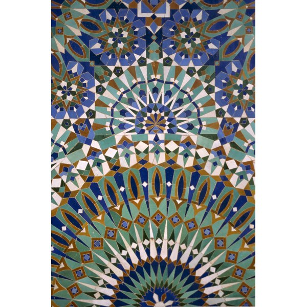 Dominant Color In Islamic Art Architecture Synonym