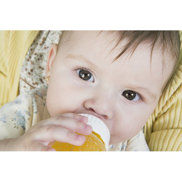 Your baby may need an electrolyte drink if she's sick and not eating.