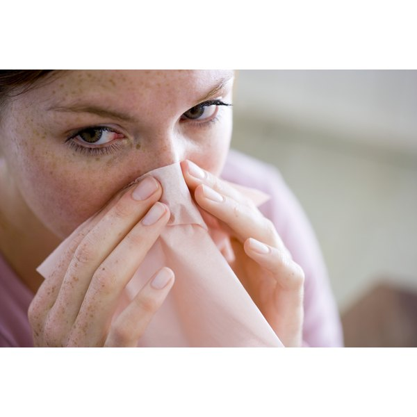 A cold can impair your senses of smell and taste.