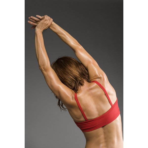Stretching exercises can help maintain flexibility in spondylitis.