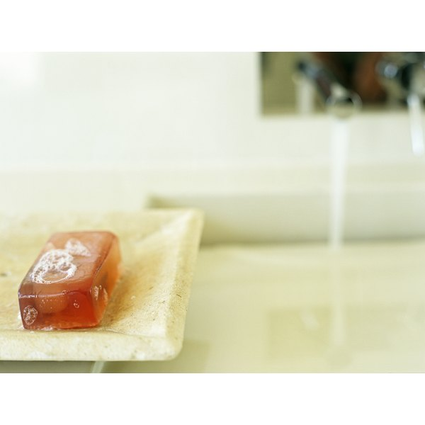 Bath soaps have many different cleansers in their formulas.