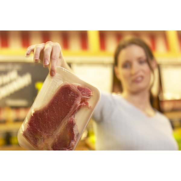Use steaks within three to five days of their sell-by dates.
