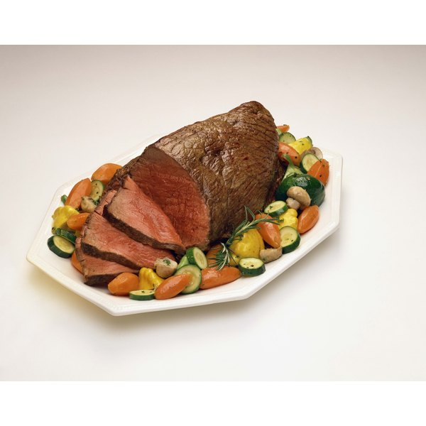 Tenderloin, rib-eye, top loin and top sirloin are excellent cuts for roast beef.