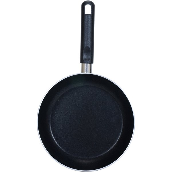 A heavy-skillet is best for shallow frying.
