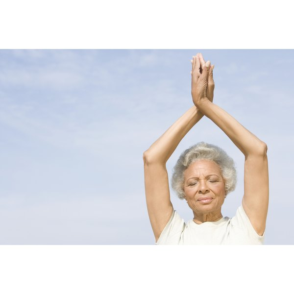 Yoga counts as physical activity, which helps improve overall health.