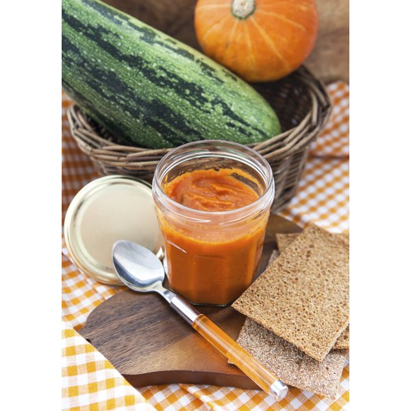 Use pumpkin puree in place of butter or shortening to increase the nutrition of your baked goods.