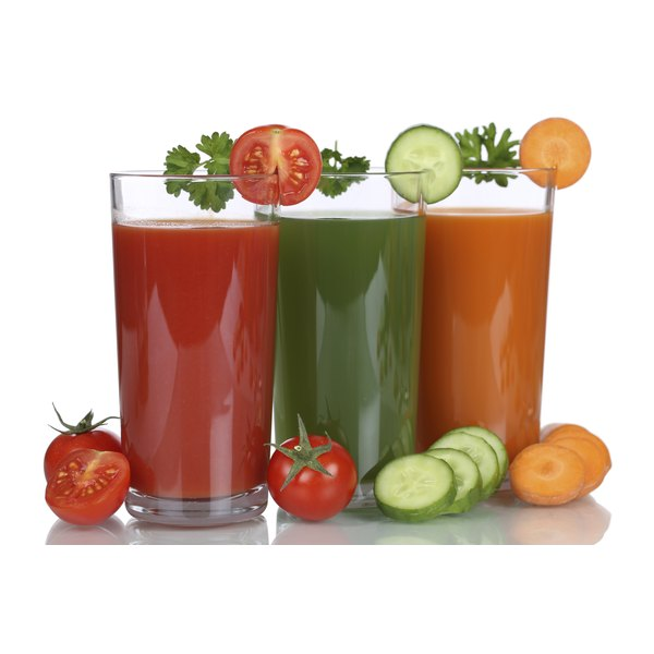 Keep calories low by making veggie-based juices.