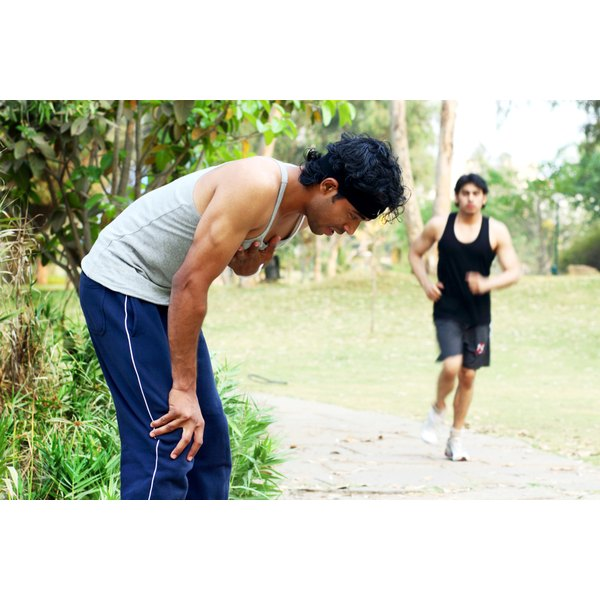 Overheating while running can cause dizziness.