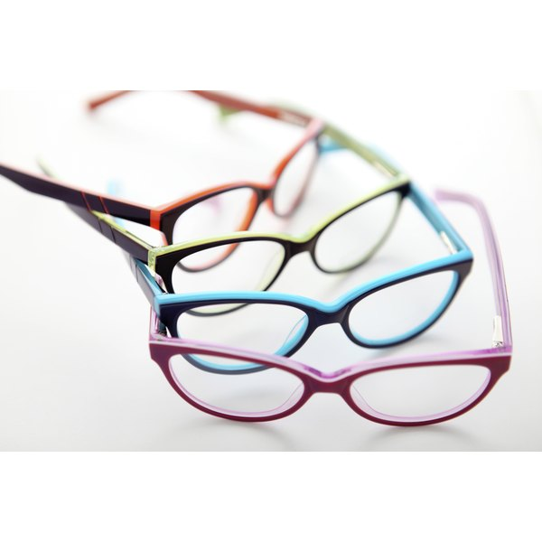 Last year's fashionable frames become a life-changing gift for a visually-challenged person.