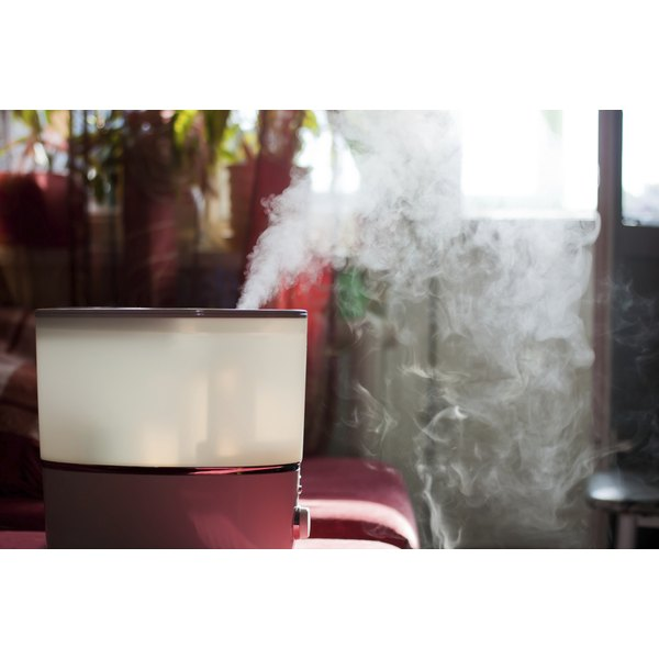 Humidifiers add water to dry indoor air, easing skin and breathing problems.