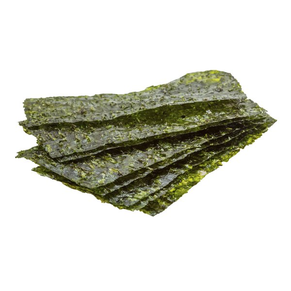 Nori is a Japanese name for an assortment of seaweed.
