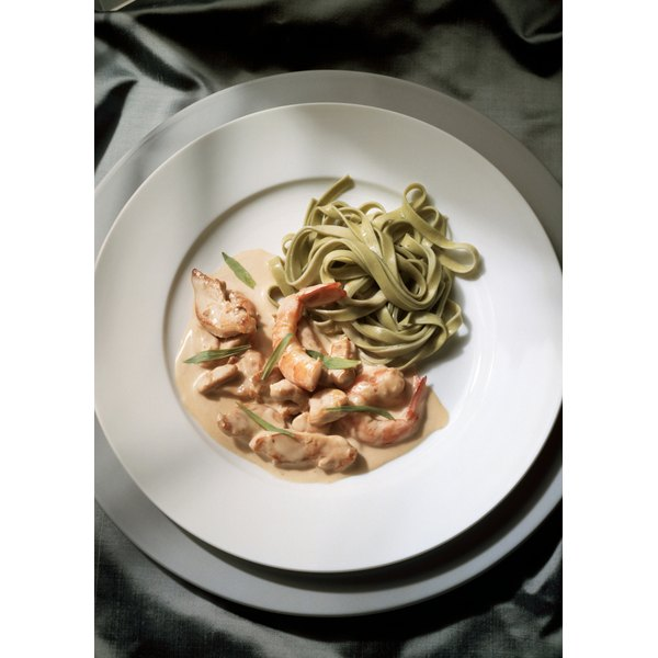 Twice-thawed shrimp are best in soups and sauces, which hides any loss of quality.