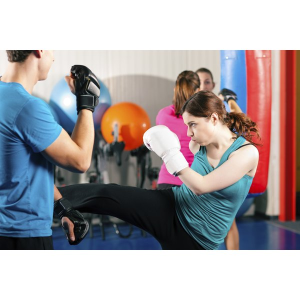 Kickboxing is a very effective cardiovascular workout.