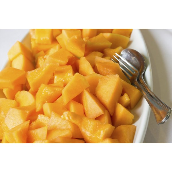 You can purchase cantaloupe all year in most grocery stores.