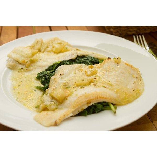 Flounder yields thin, white, delicate fillets.