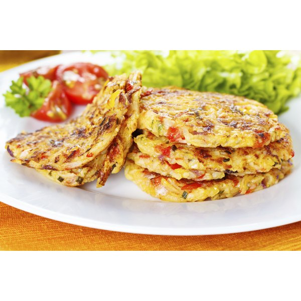 Serve corn fritters as a main course, side dish or appetizer.