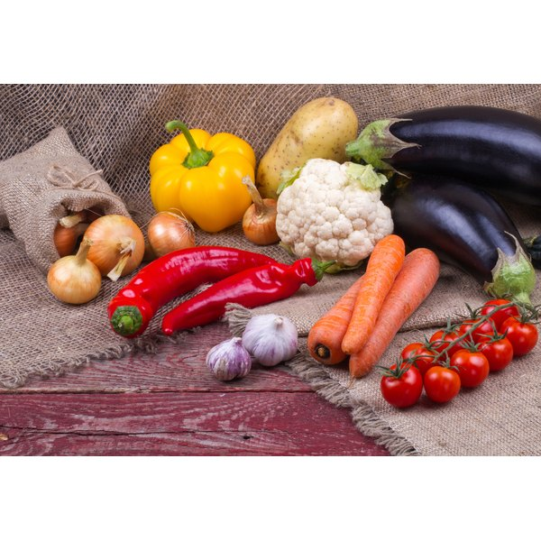 Choose richly colored vegetables to support a natural detox program.