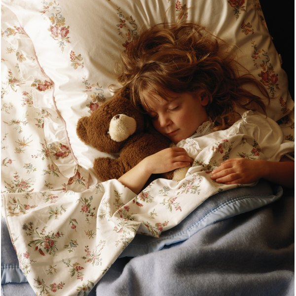 Night terrors can be traumatic for young children and their parents.